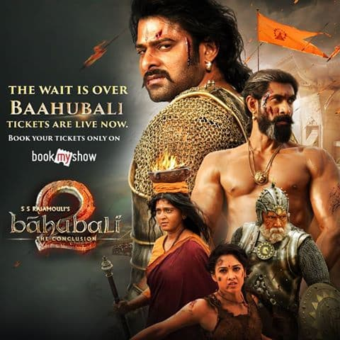 Baahubali Tickets