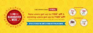 BookMyShow Diwali Offers