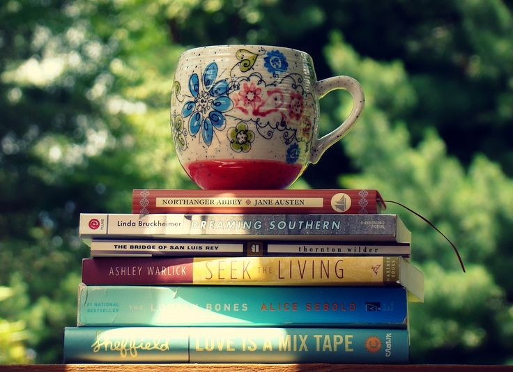 Books and Coffee mug combo