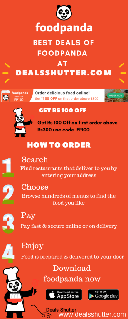 Foodpanda Coupons Infographics