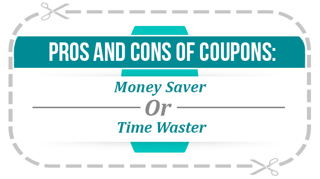 Pros and cons of coupons