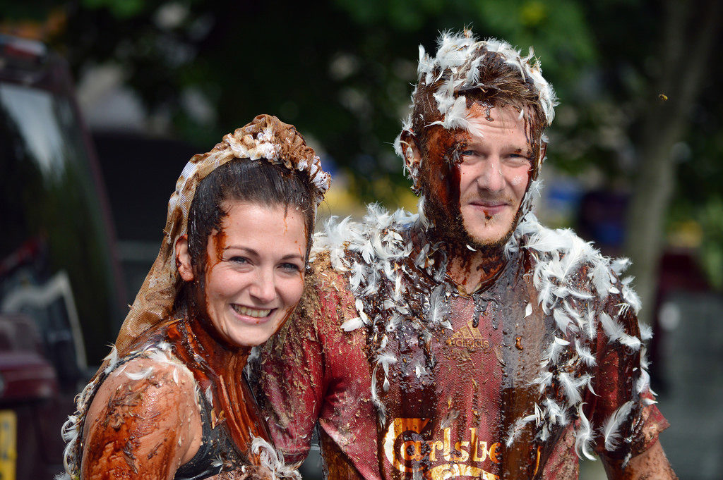 Blackening of Bride in Scotland