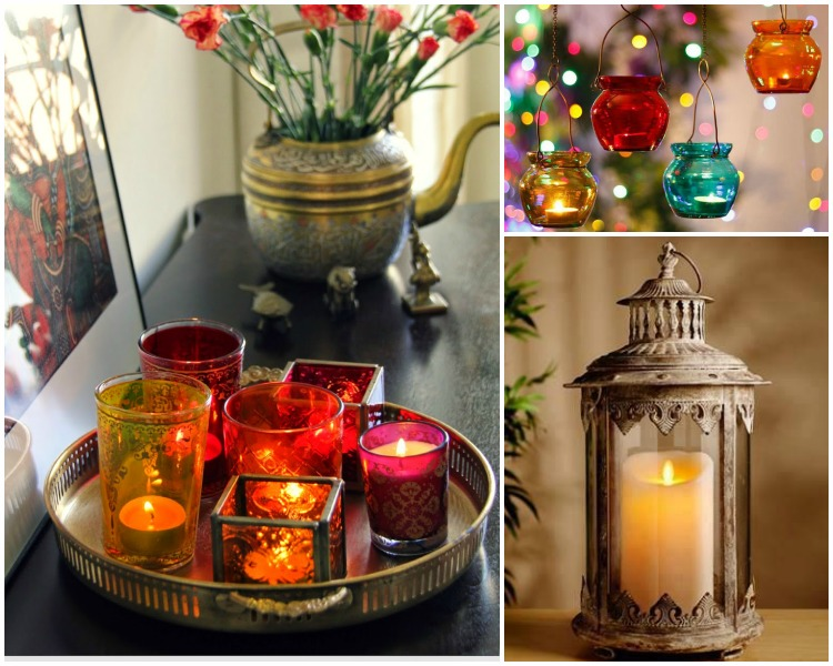Try these 20 unique diwali decoration ideas at your home for Home decorations ideas for diwali