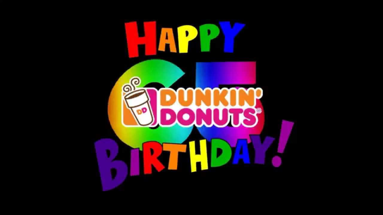 Dunkin' Donuts celebrated its 65th birthday