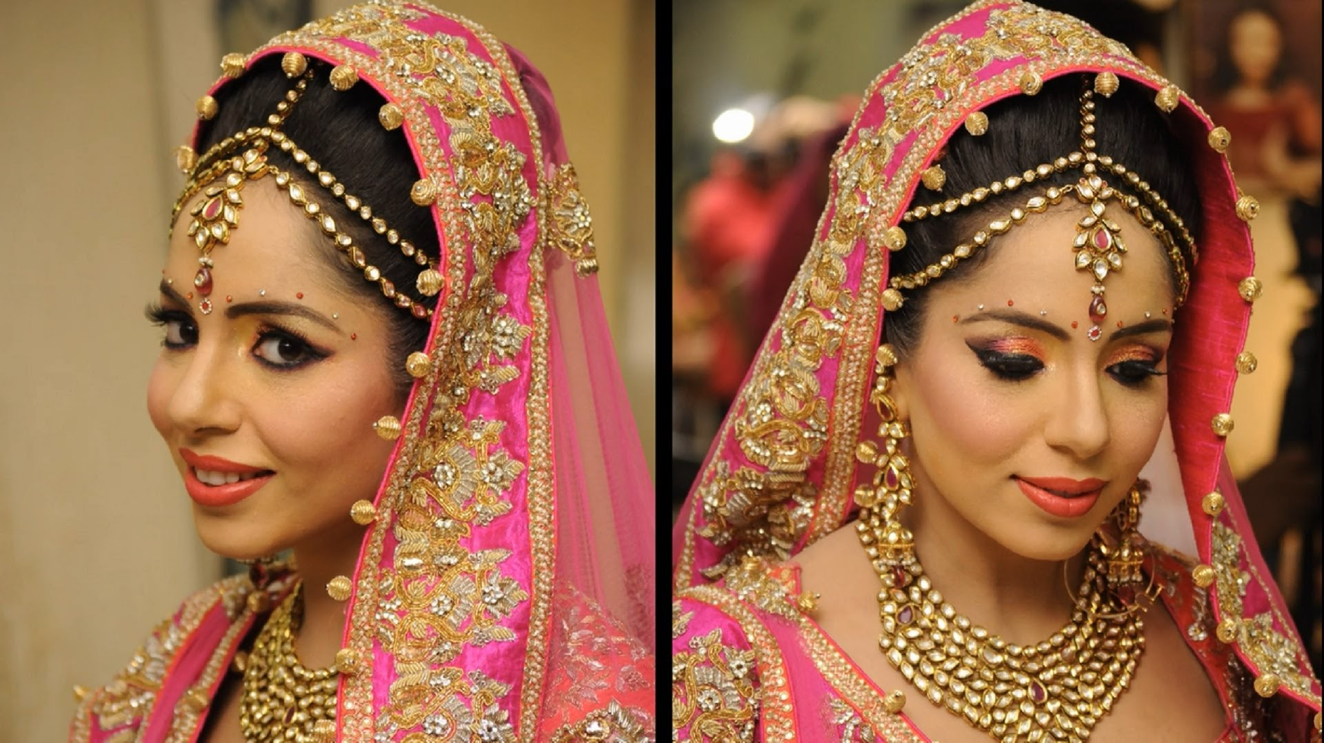 Indian Bridal Makeup Wedding Fashion