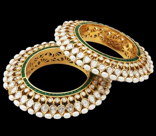 Kundan Jewellery Bangles