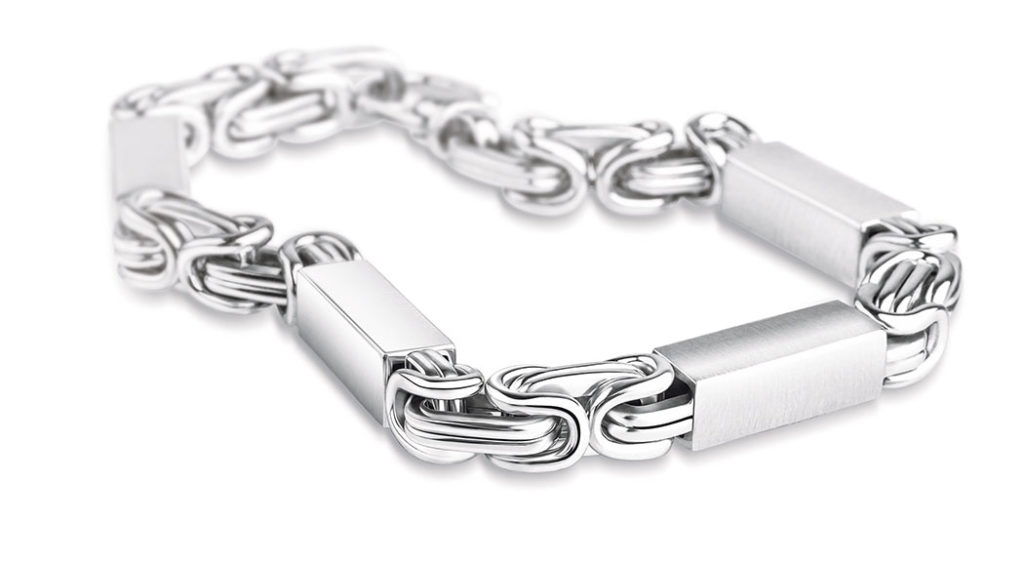 Men's Platinum bracelet