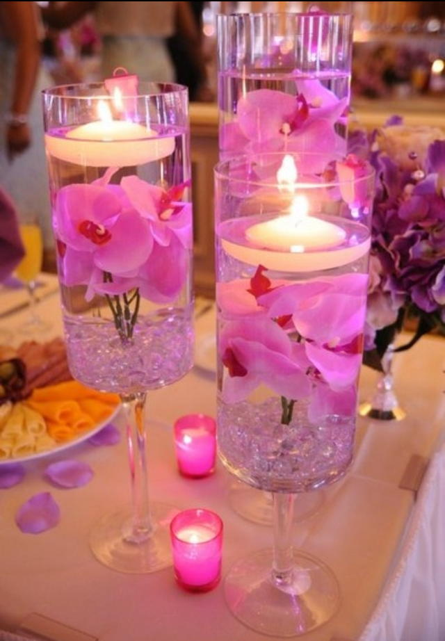 Wineglass Lamps