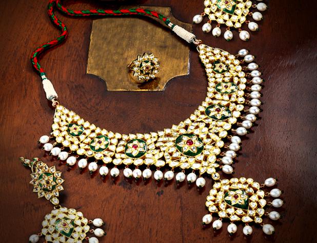 kundan Nawabi jewelry