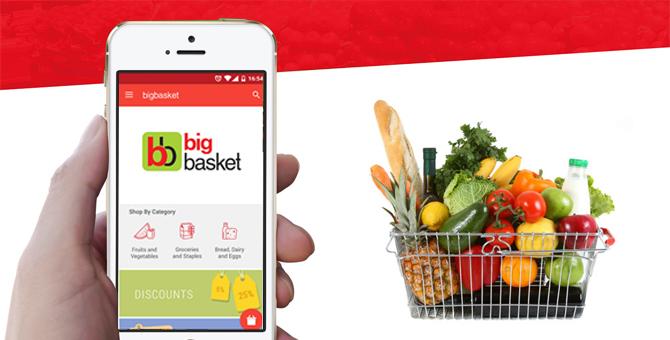 BigBasket Online Shopping App