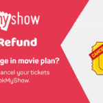 Bookmyshow ticket refund