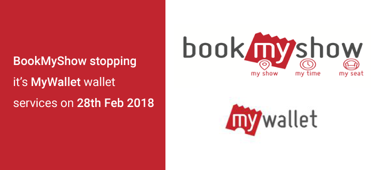 BookMyShow MyWallet Closing