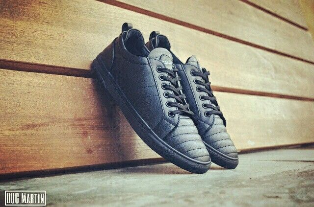 Doc Martin Men Groove Black Sneakers