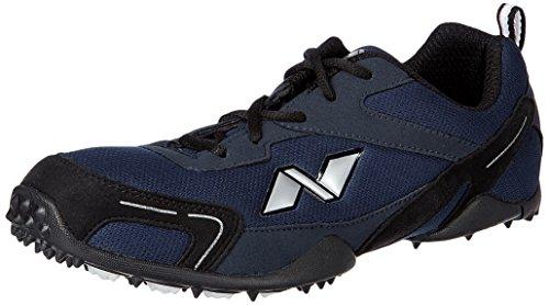 Nivia Men's Marathon Mesh PU Blue and Black Running Shoes