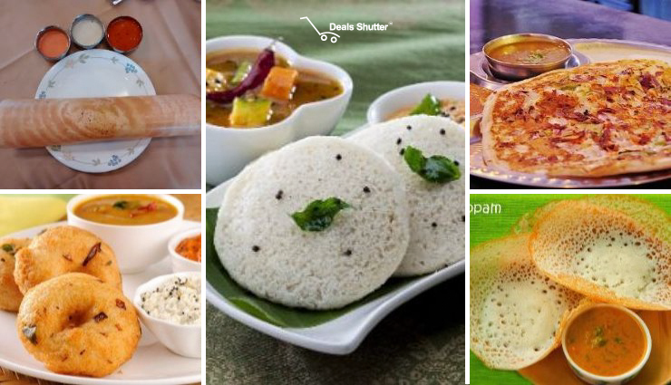 Top 5 South Indian Meals