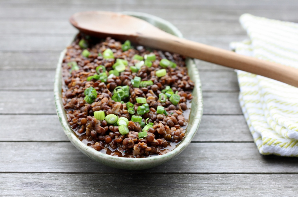 Canal House Lentils Recipe