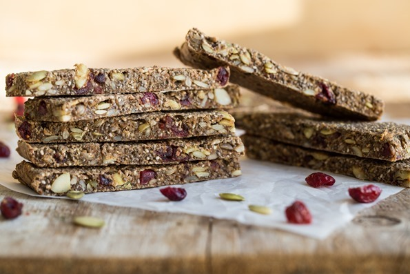 Soft and Chewy Baked Granola Bars