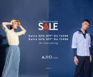 Ajio Clothes Coupons