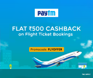 Paytm Flights Offer