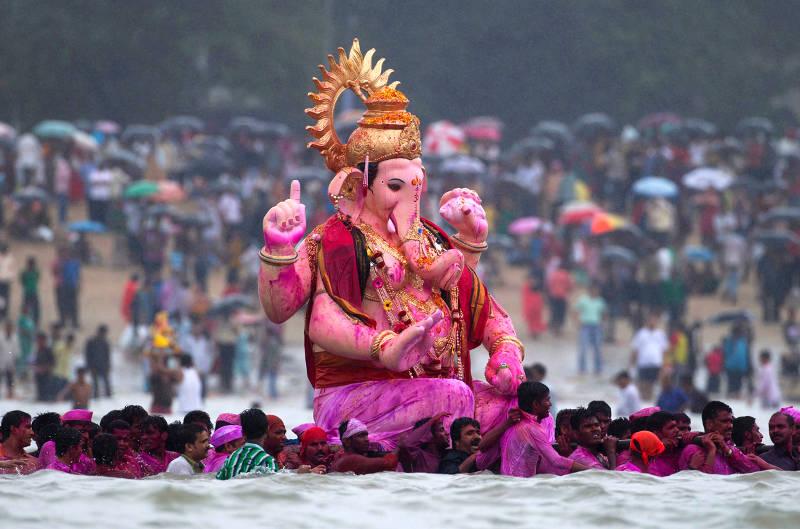 Ganesh Chaturthi visarjan