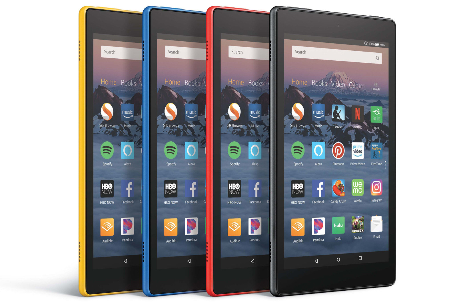amazon fire HD-latest tablets