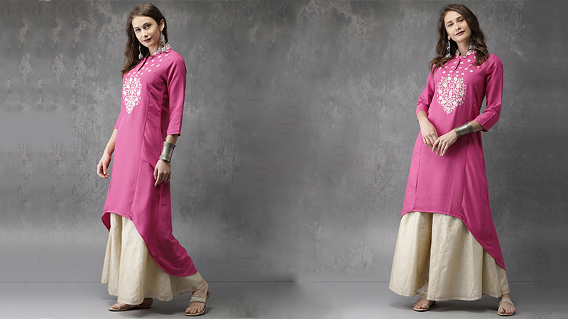 High-low kurtis