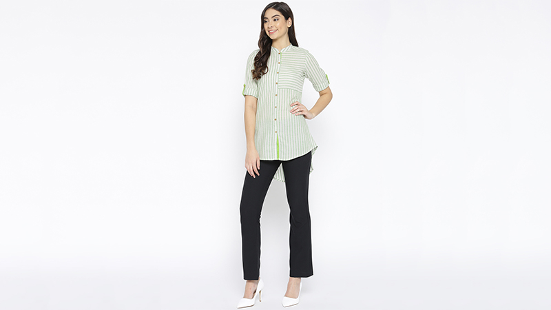 Shirt Style Kurti