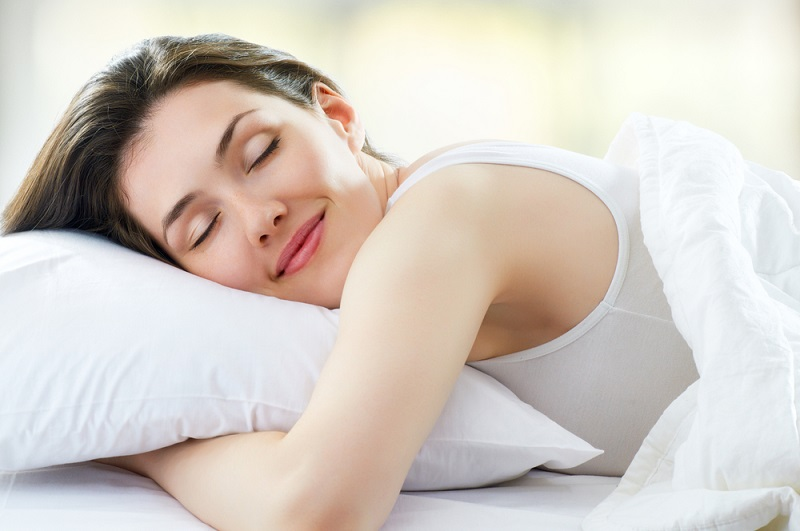 Sleeping for healthy skin
