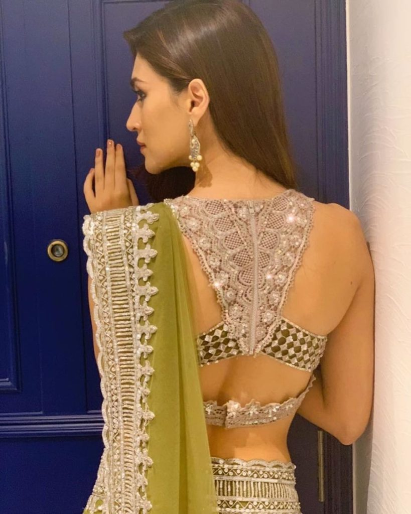 Backless Blouse For Sarees