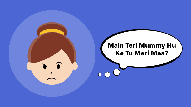 Mama Bollywood Style Dialogues