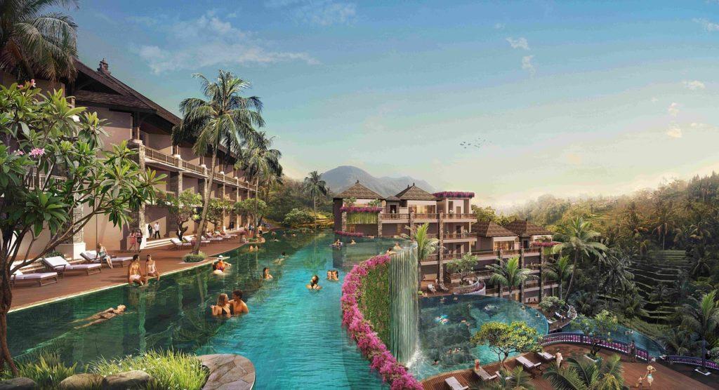 Swimming In Bali