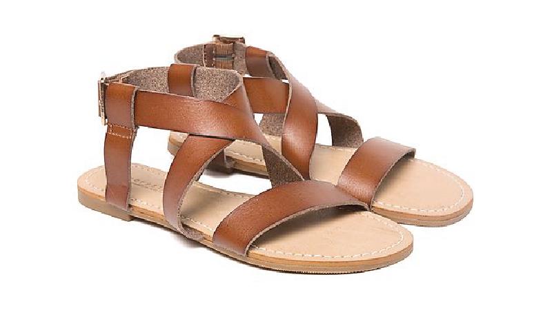 ancient greek style sandal