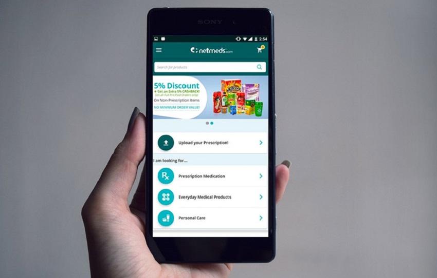 Netmeds Mobile app