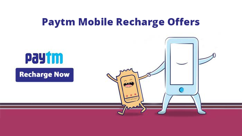 Paytm Mobile Recharge Offers