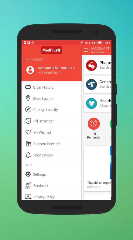 MedPlus Mart Mobile Application