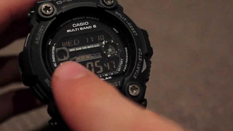Casio GW7900B-1 Solar Sport