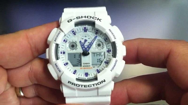 G-Shock GA100A-7A Sport Watch