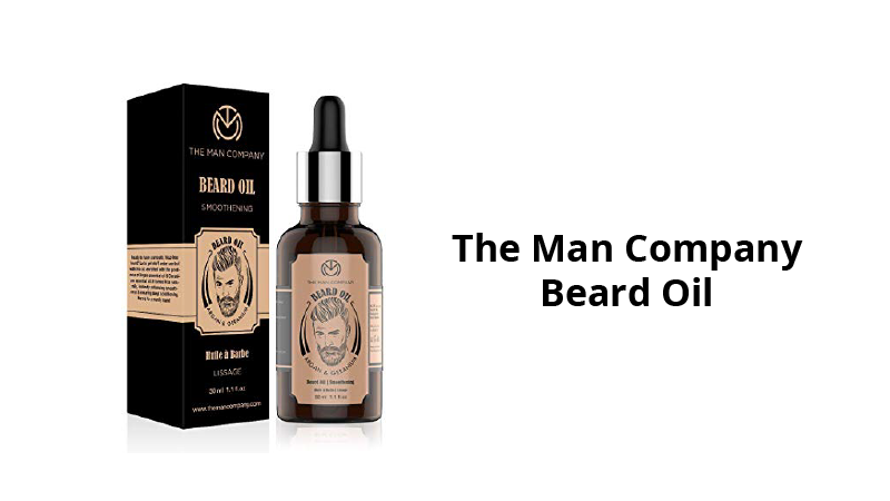 The Man Company Beard Growth Oil