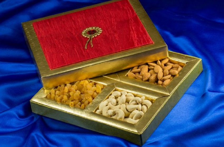 Diwali dry fruit gift items