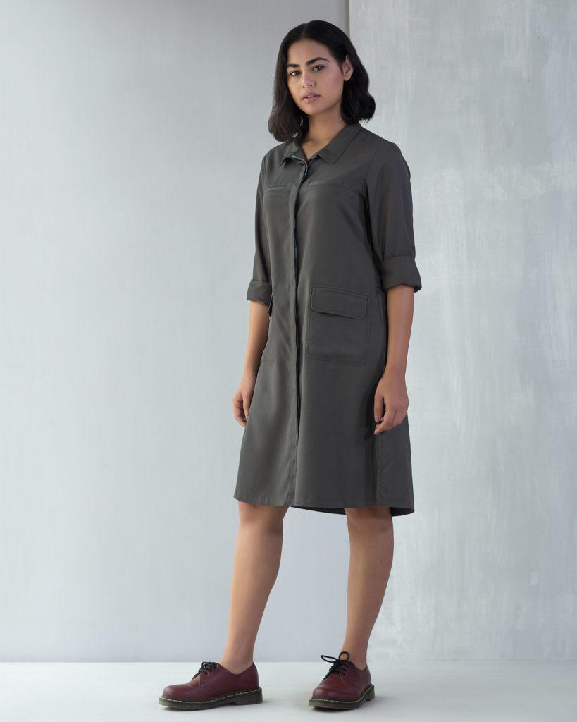 Charcoal Rover Dress