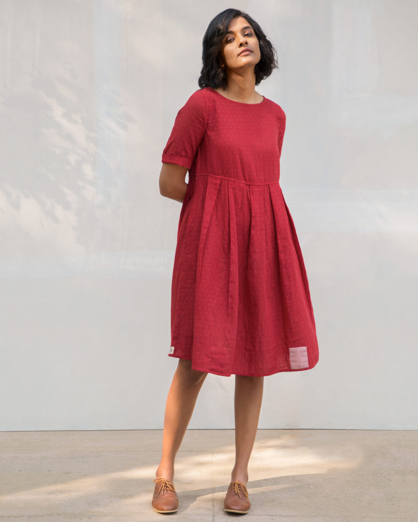 Red Reversible Dress