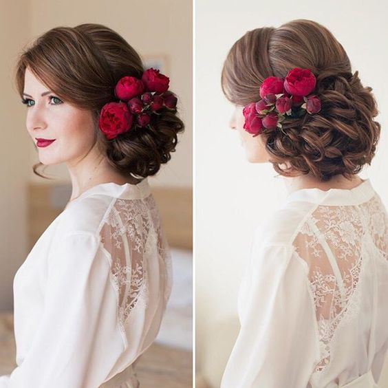 Side Buns Wedding Hairstyles