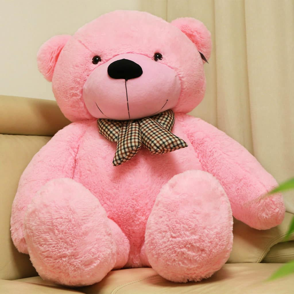Huge Valentines Day Teddy Bear