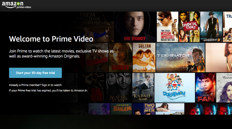 Amazon Prime Video Streaming Apps