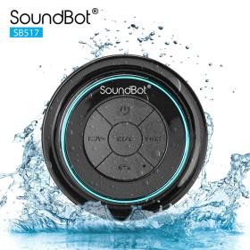 Get a SoundBot SB517 Portable Outdoor Speakers (Black) (60% Off)