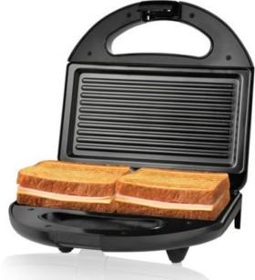 Flipkart Sale: Nova 2 Slice Panini Grill NSG 2441 Toast  (Black, Grey) @ Rs.899 Only
