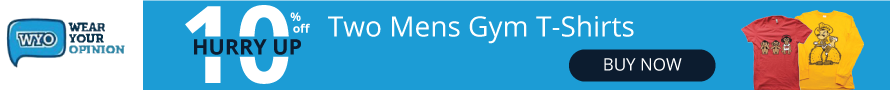 Get 10% Off on Two Men's T-shirts on Wyo